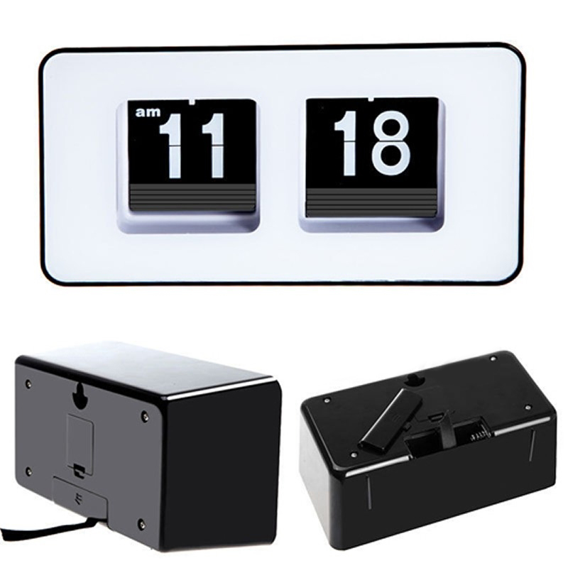 Horloge-De-Bureau-A-Retournement-Automatique-Numerique-Reveils-A-Retourneme-2X6 miniature 6