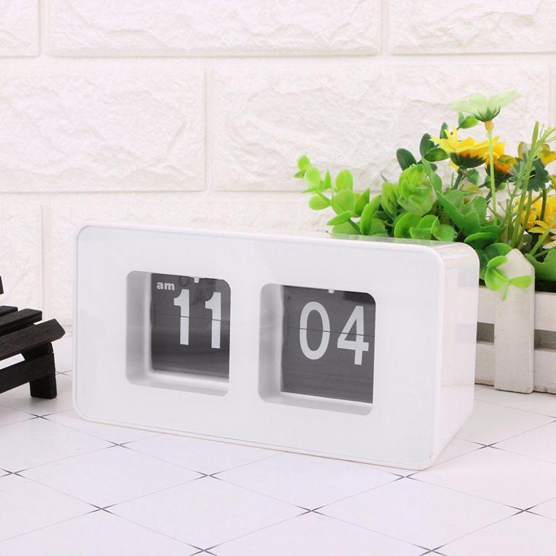 Horloge-De-Bureau-A-Retournement-Automatique-Numerique-Reveils-A-Retourneme-2X6 miniature 12