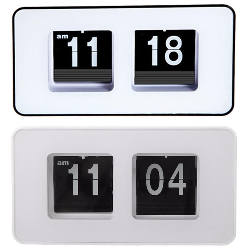 Horloge-De-Bureau-A-Retournement-Automatique-Numerique-Reveils-A-Retourneme-2X6 miniature 13