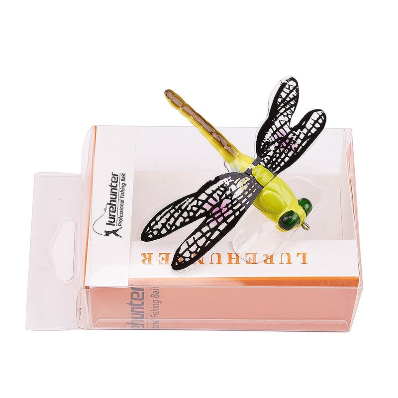 1X-Fishing-Floating-Bait-Dragonfly-Artificial-Simulated-Fly-Fishing-Lure-Co3D1 thumbnail 3