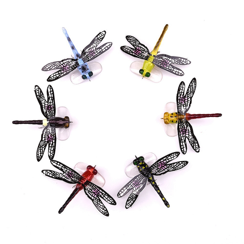 1X-Fishing-Floating-Bait-Dragonfly-Artificial-Simulated-Fly-Fishing-Lure-Co3D1 thumbnail 15