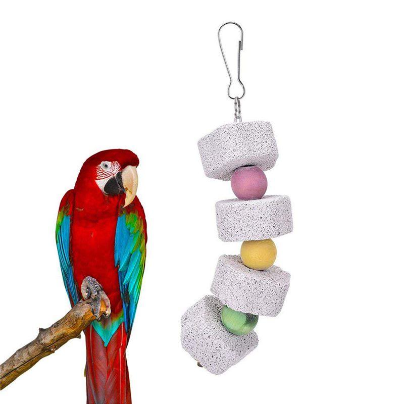2X-Packung-Mit-5-Vogel-Kauen-Spielzeug-Vogel-Haengende-Glocke-Vogel-Leiter-H-H9C4 Indexbild 7