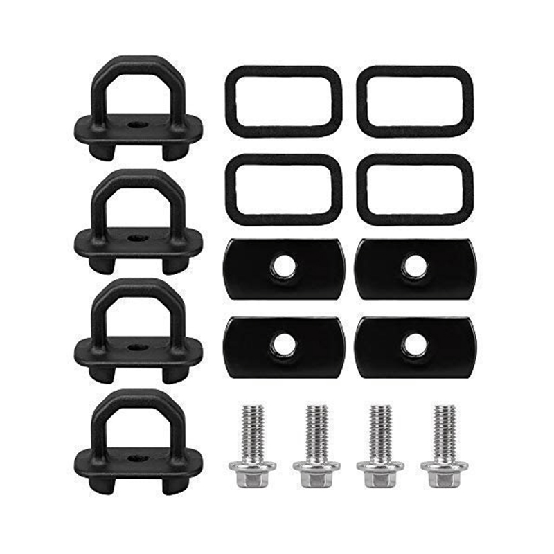 15-18 Chevy Colorado and GMC Canyon Model Truck Bed Side Wall Anchors BORDAN Chevy Anchor Truck Bed 4Pcs Set Tie Downs Anchor Fits 07-18 GMC Sierra Cargo