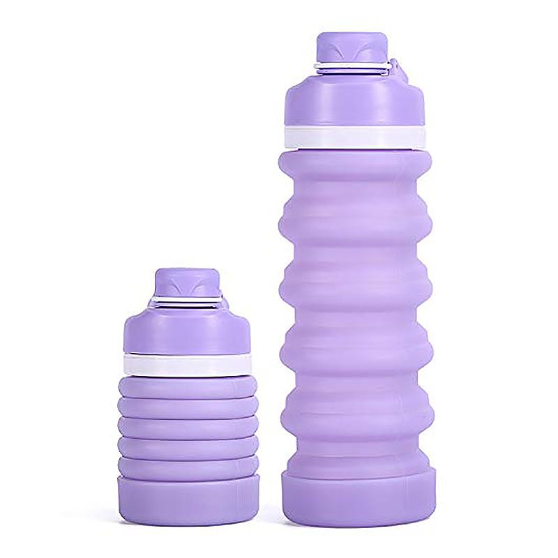 Faltbare-Wasser-Flasche-Teleskop-Wasser-Kocher-Fitness-Wasser-Flasche-550Ml-Z8S9 Indexbild 4