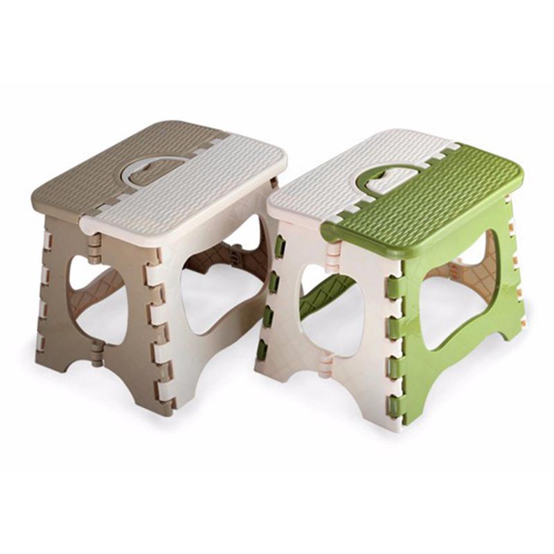 Tabouret-Pliant-En-Plastique-Chaise-Epaississante-Meubles-De-Maison-Portabl-N1P1 miniature 3