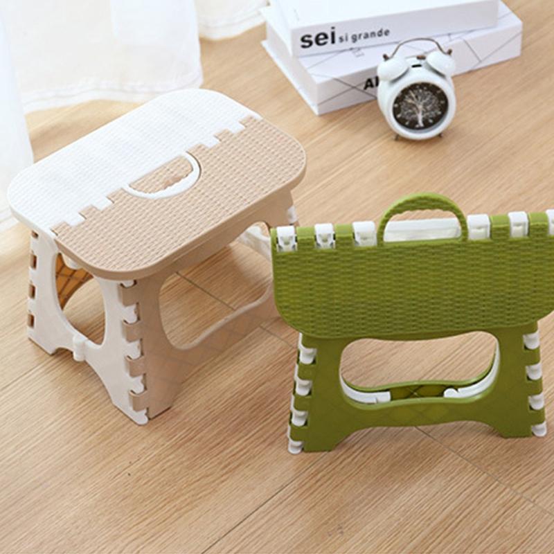 Tabouret-Pliant-En-Plastique-Chaise-Epaississante-Meubles-De-Maison-Portabl-N1P1 miniature 4