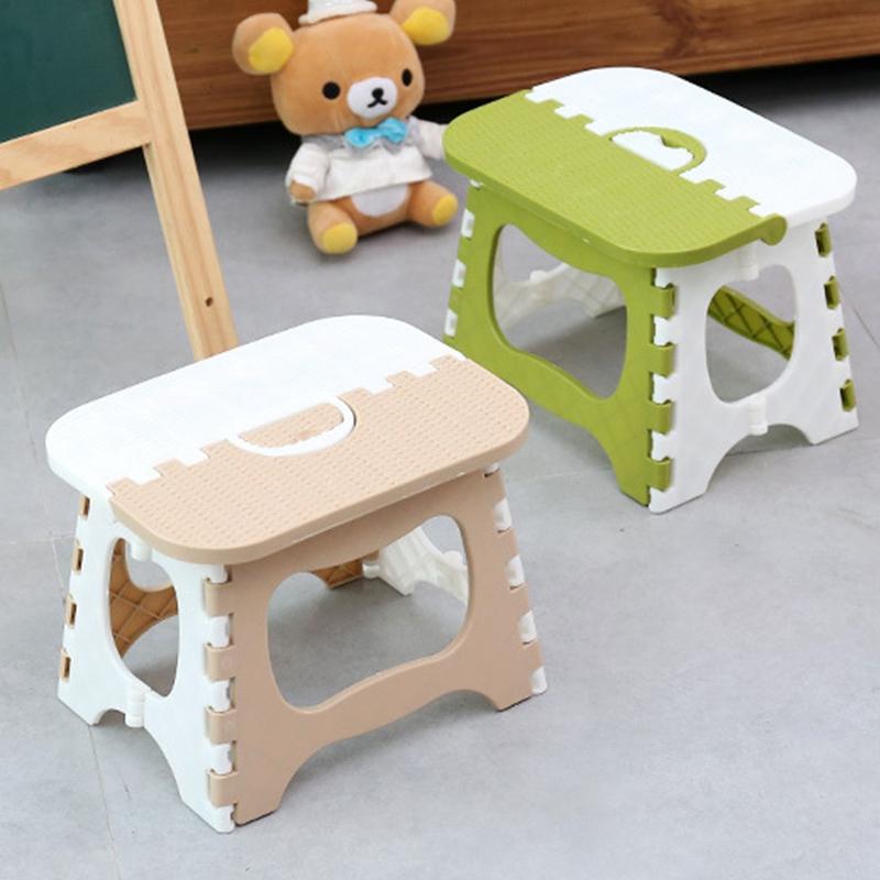 Tabouret-Pliant-En-Plastique-Chaise-Epaississante-Meubles-De-Maison-Portabl-N1P1 miniature 7