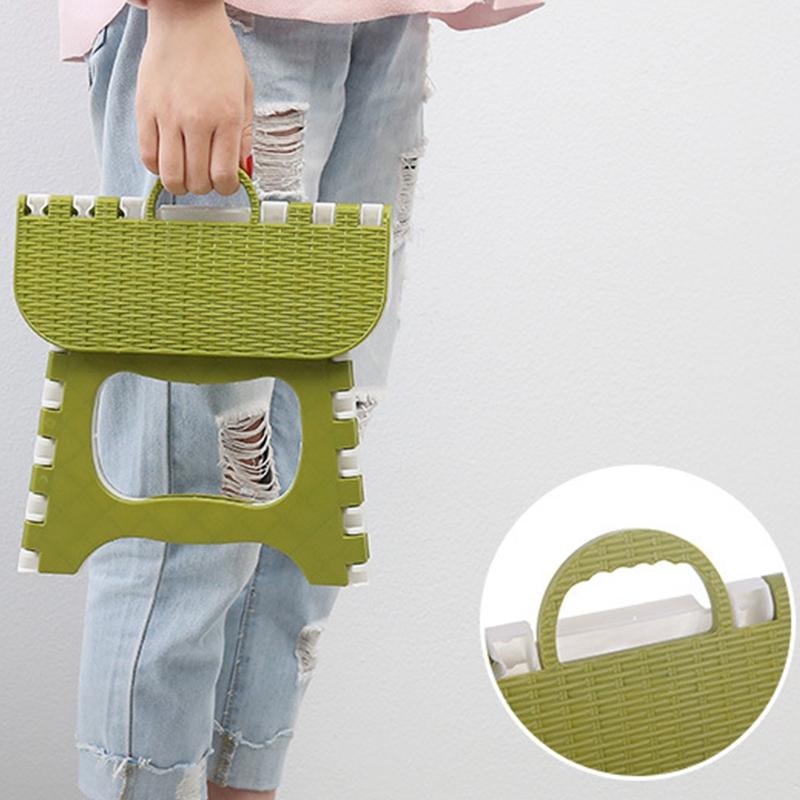 Tabouret-Pliant-En-Plastique-Chaise-Epaississante-Meubles-De-Maison-Portabl-N1P1 miniature 11