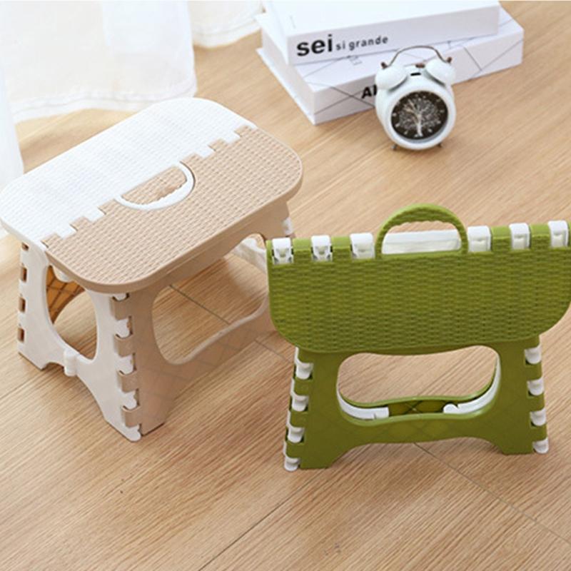 Tabouret-Pliant-En-Plastique-Chaise-Epaississante-Meubles-De-Maison-Portabl-N1P1 miniature 12