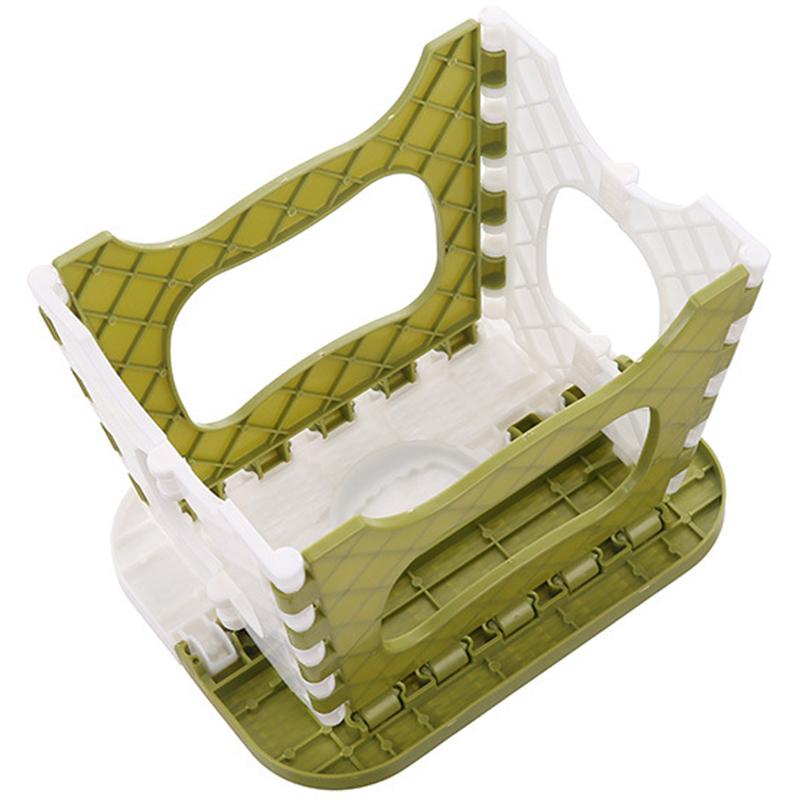 Tabouret-Pliant-En-Plastique-Chaise-Epaississante-Meubles-De-Maison-Portabl-N1P1 miniature 14