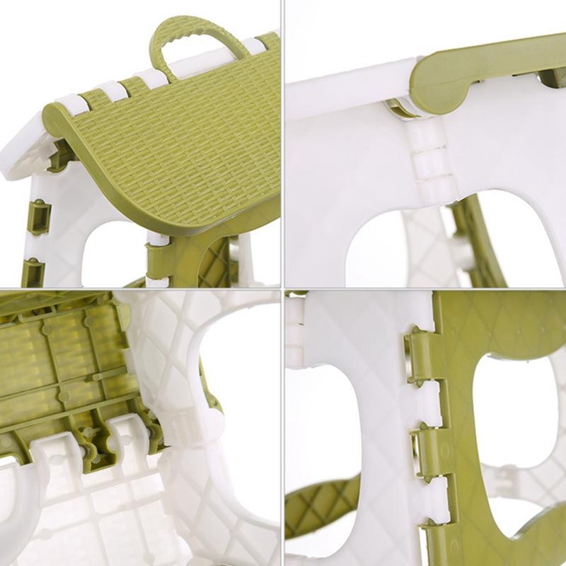 Tabouret-Pliant-En-Plastique-Chaise-Epaississante-Meubles-De-Maison-Portabl-N1P1 miniature 15
