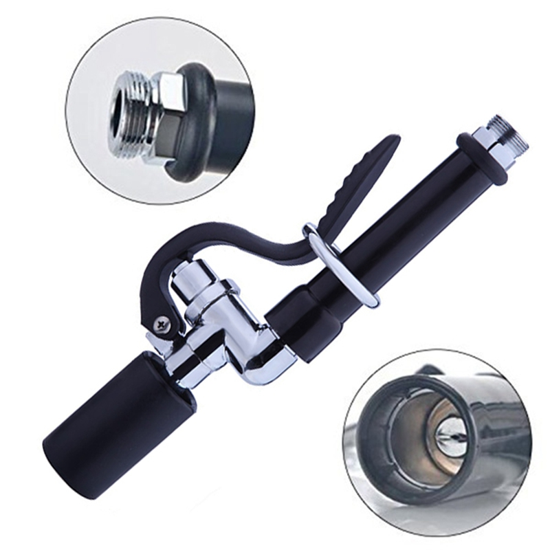 1X-Pre-Rinse-Sprayer-Commercial-Faucet-Pull-Out-Kitchen-Hand-Shower-Head-Di8B5 thumbnail 4