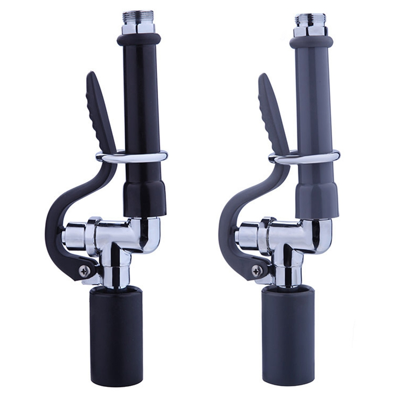 1X-Pre-Rinse-Sprayer-Commercial-Faucet-Pull-Out-Kitchen-Hand-Shower-Head-Di8B5 thumbnail 13