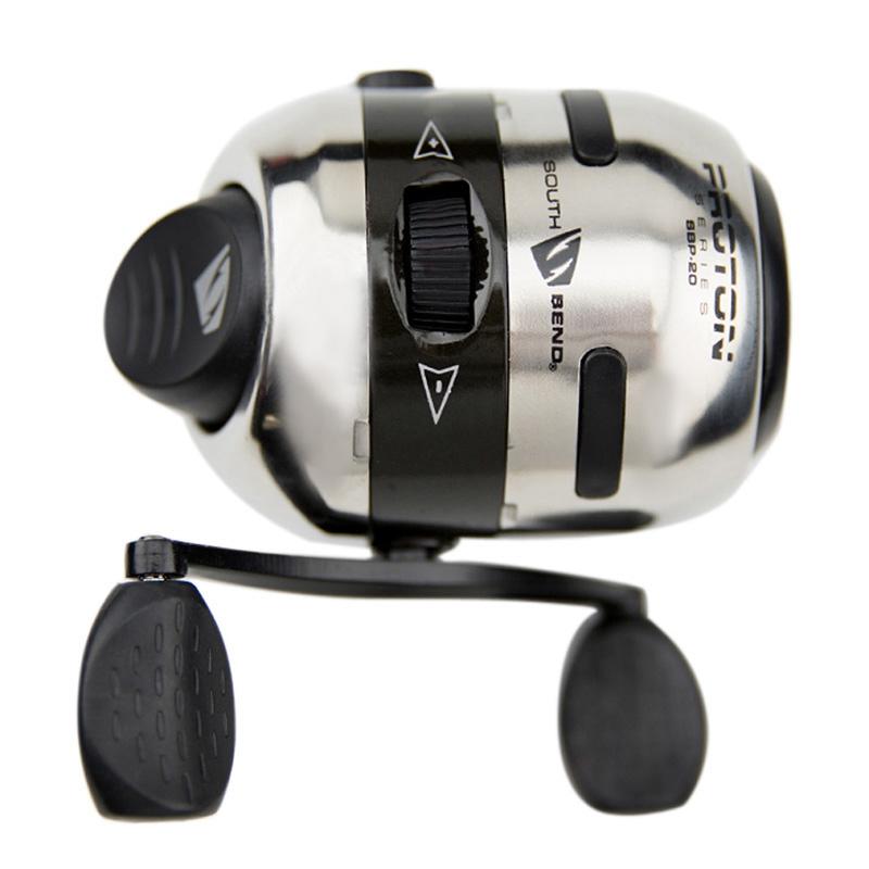 6X Mini Spincast Reel RUOTA Catapulta IN ACCIAIO INOX CACCIA PESCA CON MULINELLO F Q9E7