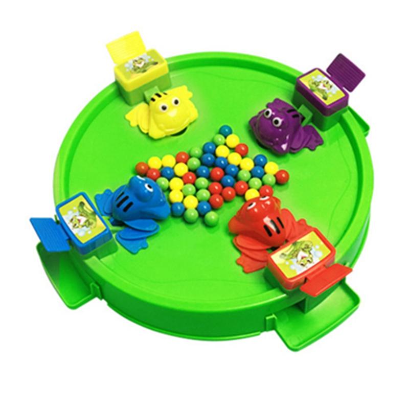 Grenouille-A-Alimenter-Jeu-De-Fete-De-Famille-Jouets-Populaires-Pour-Enfant-W5G2 miniature 3