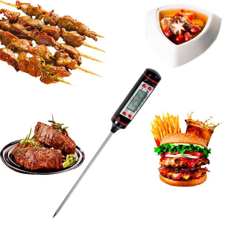 Thermometre-D-039-Aliment-De-Barbecue-Numerique-Pour-Cuisine-Jauges-Thermometre-7C3 miniature 3