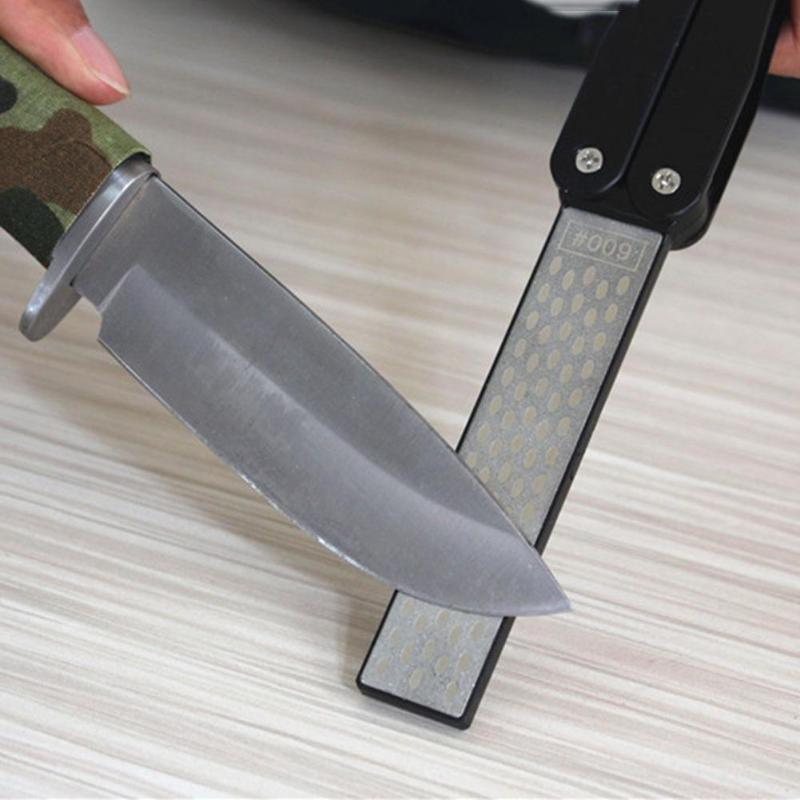 2-Side-Folding-Fan-Shape-Stone-Diamond-Knife-Sharpener-Outdoor-Repair-Tools-K3V1 thumbnail 8