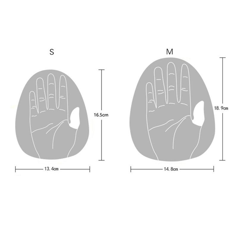 1X-1-Paar-Schwimmen-Paddel-Strich-Professionelle-Hand-Paddel-Wasser-Sport-S-F7S3 Indexbild 5