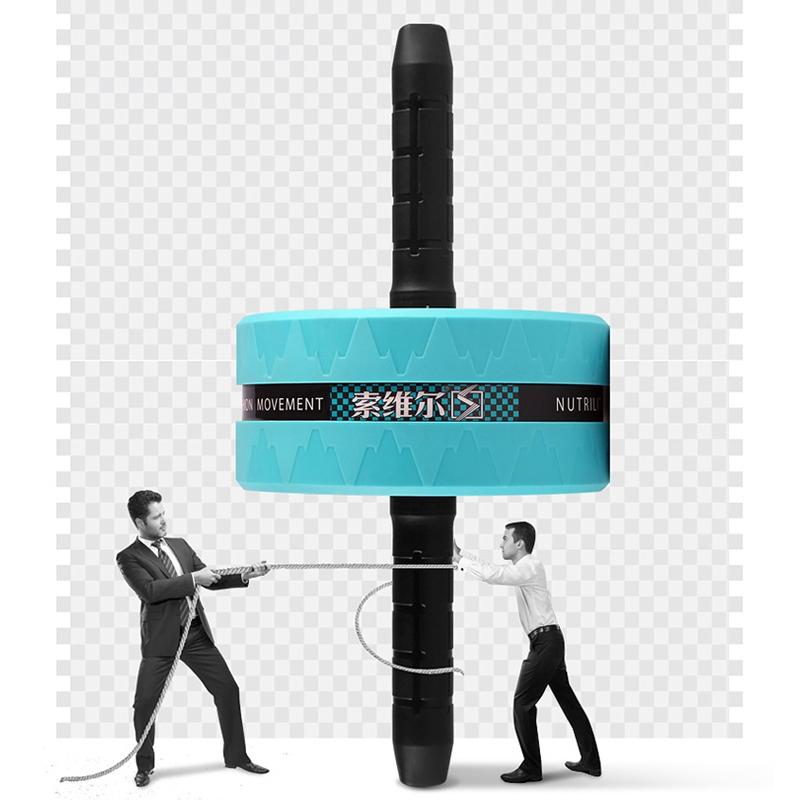 SOWELL-Rouleau-Exerciseur-Abdominal-Double-Roue-de-Fitness-Stimulateur-Musc-K1J2 miniature 6