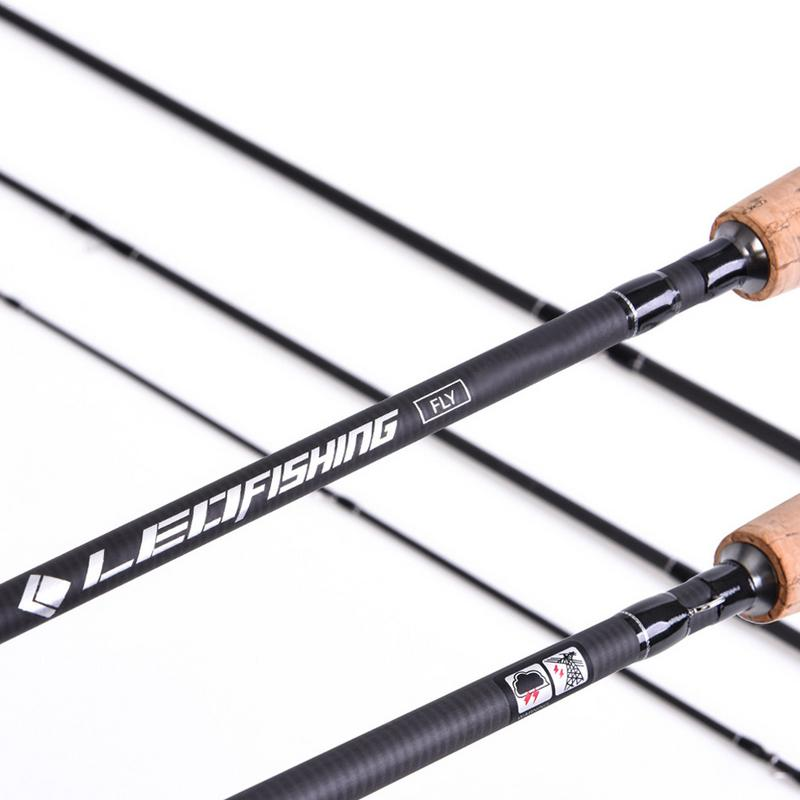 Leo-Four-Section-Fly-Fishing-Rod-9-Feet-2-7-Meters-M-4-Optional-Fishing-Rod-F4V4 thumbnail 6