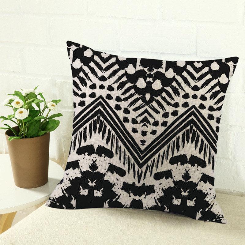 2X-Home-Decor-Cushion-Cover-Simple-Geometric-Throw-Pillowcase-Car-Decoratio6S1 thumbnail 3