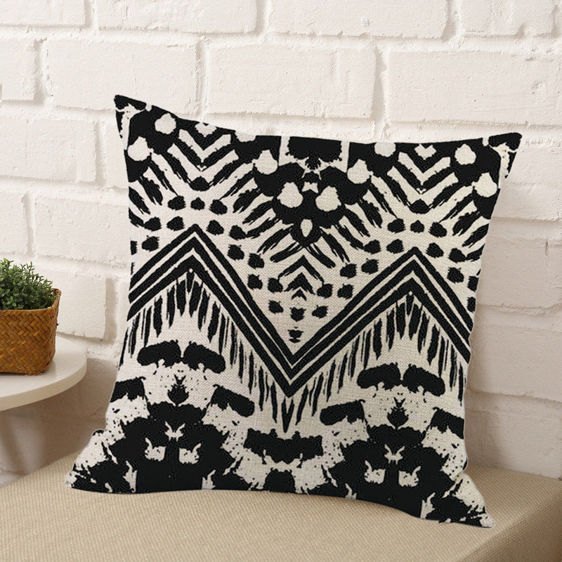 2X-Home-Decor-Cushion-Cover-Simple-Geometric-Throw-Pillowcase-Car-Decoratio6S1 thumbnail 4
