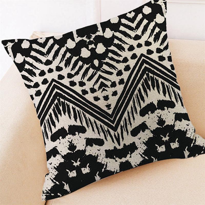 2X-Home-Decor-Cushion-Cover-Simple-Geometric-Throw-Pillowcase-Car-Decoratio6S1 thumbnail 7