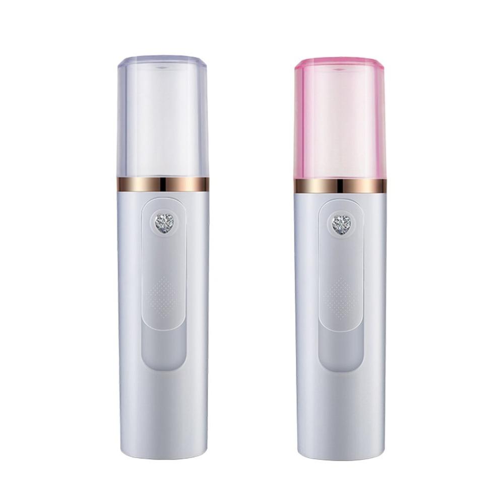 Portable Mini Mist Spray Facial Moisturizing Usb Rechargeable Beauty Instru Q5O7