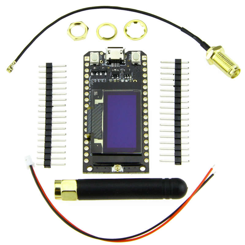 Bluetooth Wifi ESP-32 Development Board Module Lora32 Lora 868Mhz ESP32 Lor E7B4