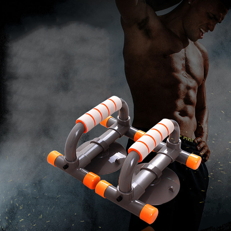 8X(1Pair High Fitness Body Building Building Building Equipment Suction Stand Chest Bar Push E9T3 ee1ea1