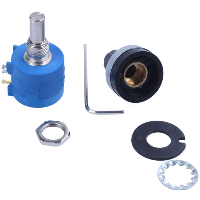 1pcs 3590S-2-101L 100 Ohm  Rotary Wirewound Precision Potentiometer Pot 10 Turn