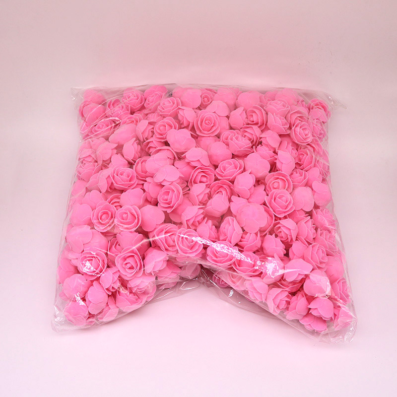 1X-500Pcs-Lot-These-Flowers-Are-Used-To-Decorate-Flores-Man-Made-Decorative4D8 thumbnail 5