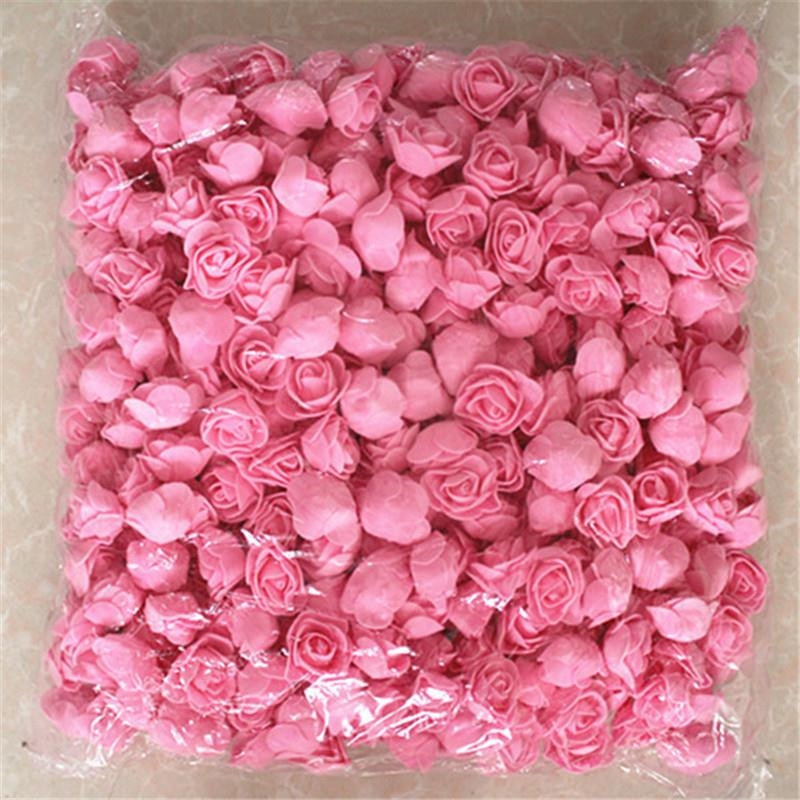 1X-500Pcs-Lot-These-Flowers-Are-Used-To-Decorate-Flores-Man-Made-Decorative4D8 thumbnail 7