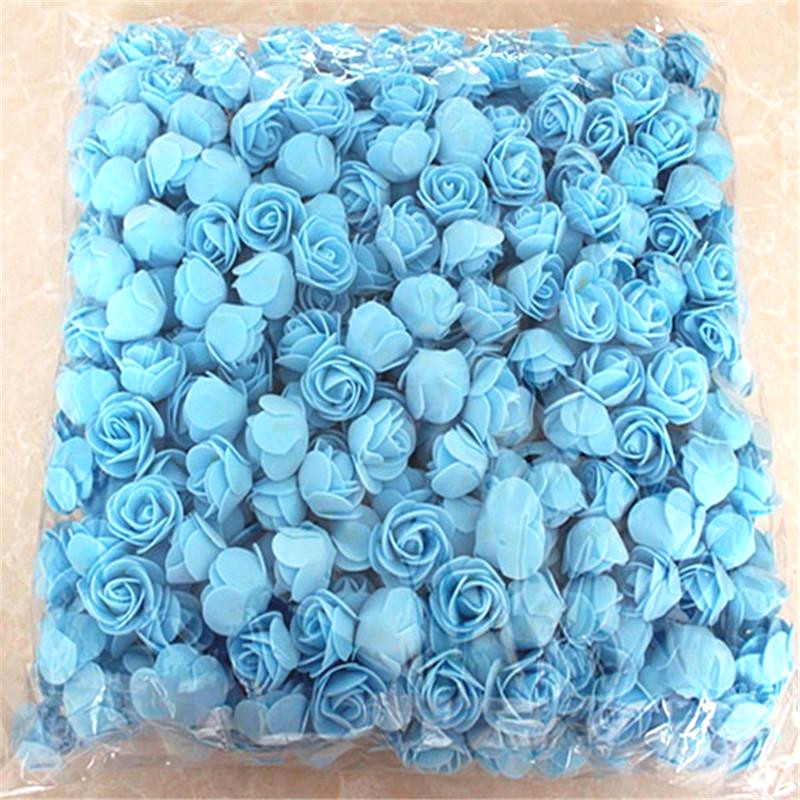 1X-500Pcs-Lot-These-Flowers-Are-Used-To-Decorate-Flores-Man-Made-Decorative4D8 thumbnail 23