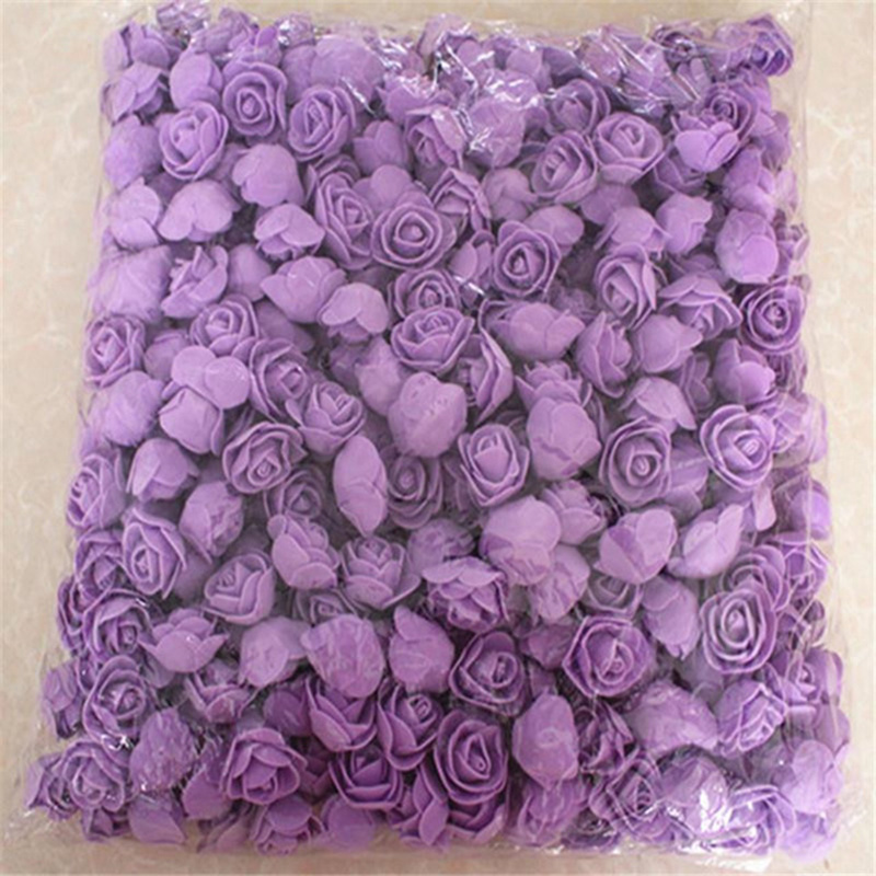 1X-500Pcs-Lot-These-Flowers-Are-Used-To-Decorate-Flores-Man-Made-Decorative4D8 thumbnail 29