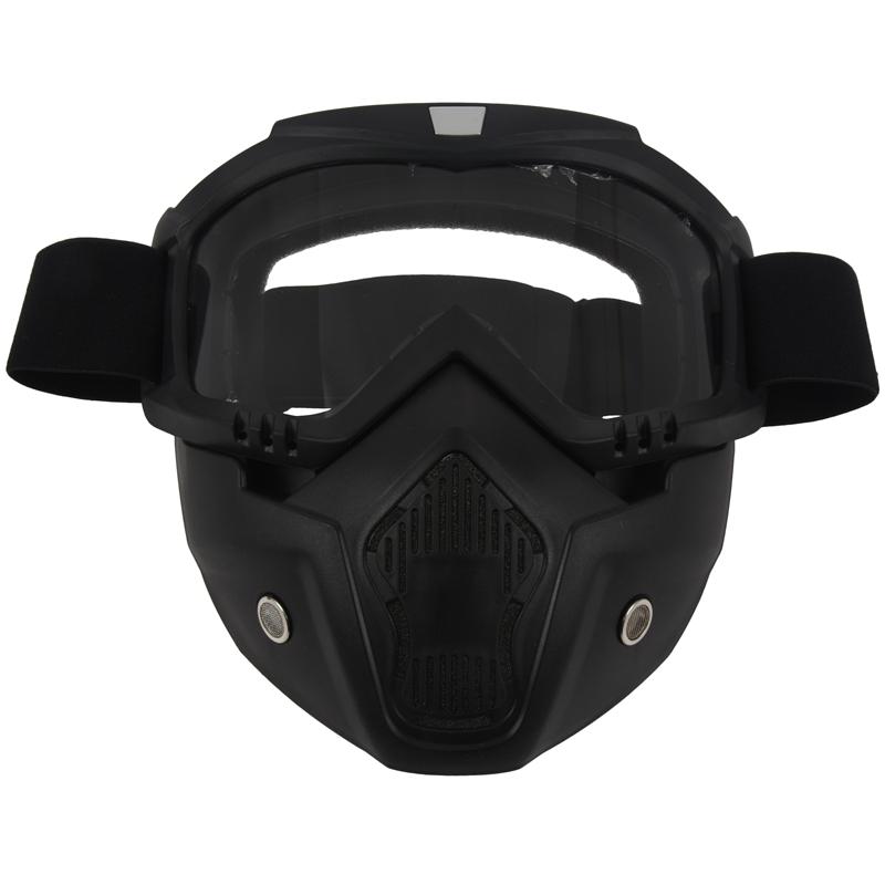 Course-d-039-autos-Modulaire-detachable-Casque-de-moto-Masque-de-protection-Boucl-58 miniature 20