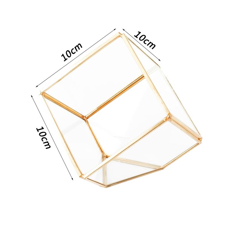 1X-Geometrische-Mini-Landschaft-Pflanzen-Transparent-Glas-Haus-Blume-Zimmer-S3B9 Indexbild 2