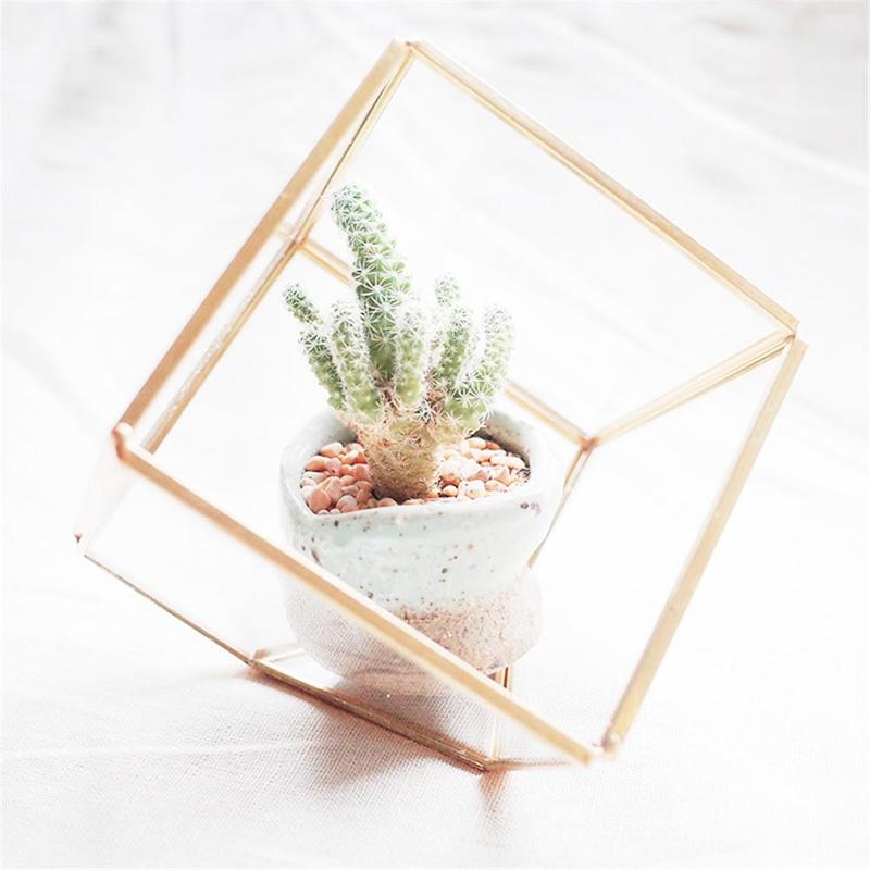 1X-Geometrische-Mini-Landschaft-Pflanzen-Transparent-Glas-Haus-Blume-Zimmer-S3B9 Indexbild 3