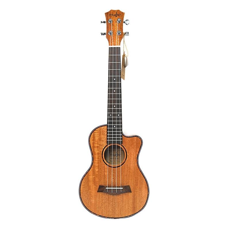 Tenor Acoustic 26 Zoll Ukulele 4 Saiten Gitarre Reise Holz Mahagoni Musik T3W3