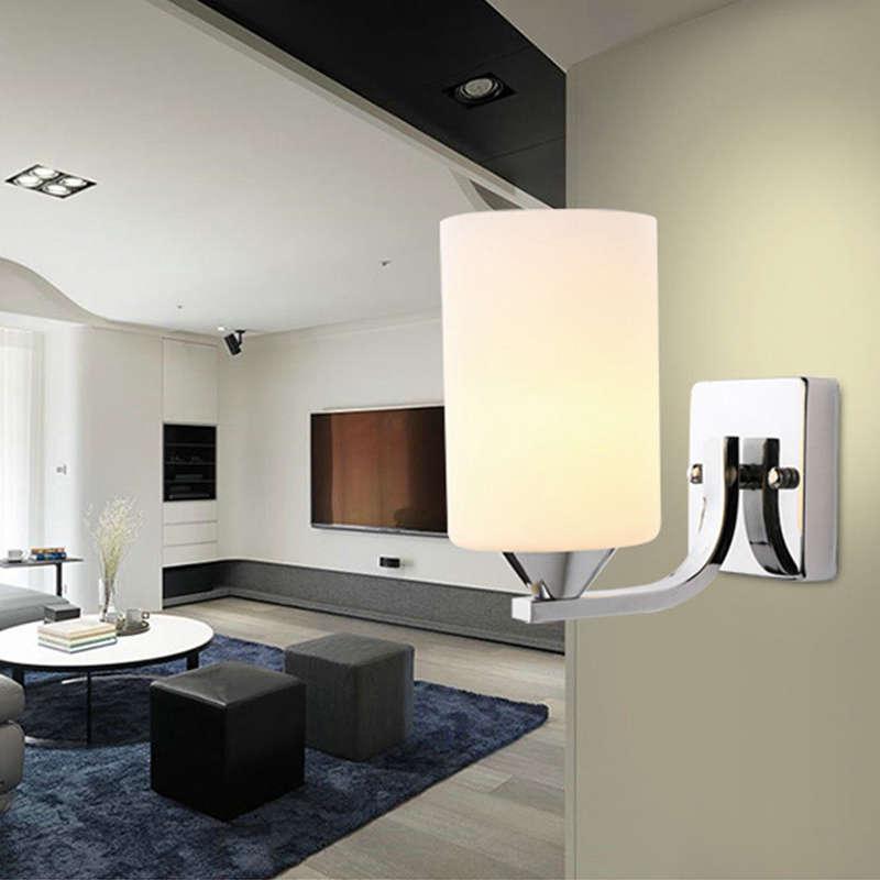 Verre-Moderne-Lumiere-Led-Applique-Murale-Eclairage-De-La-Lampe-Fixation-De-3E4 miniature 3