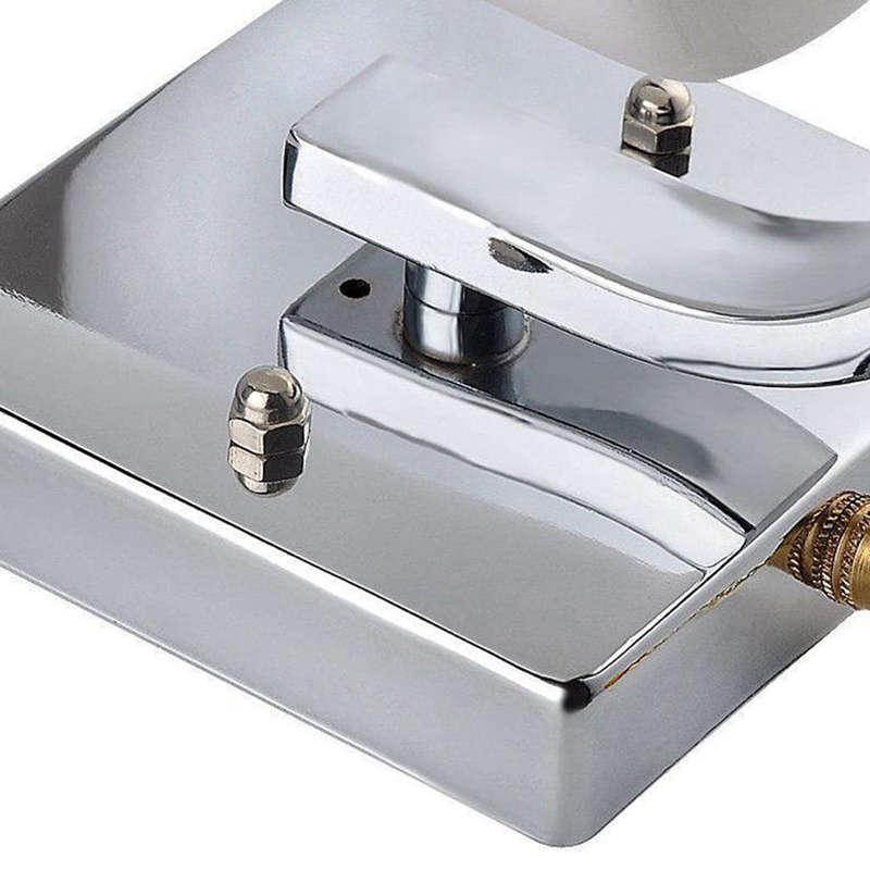 Verre-Moderne-Lumiere-Led-Applique-Murale-Eclairage-De-La-Lampe-Fixation-De-3E4 miniature 8
