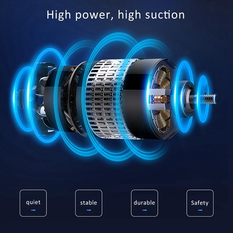 Aspirador-de-Coche-de-Alta-Potencia-de-120W-de-Carga-Potente-Limpieza-R4F1 miniatura 7