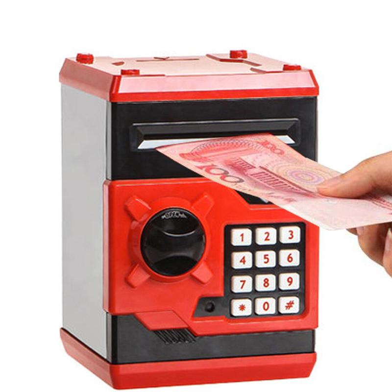 Hot-New-Piggy-Bank-Mini-Atm-Money-Box-Electronic-Password-Chewing-Coin-Cash-Depo thumbnail 3