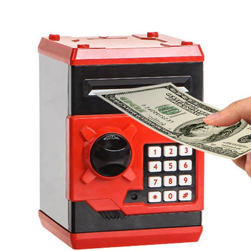 Hot-New-Piggy-Bank-Mini-Atm-Money-Box-Electronic-Password-Chewing-Coin-Cash-Depo thumbnail 5