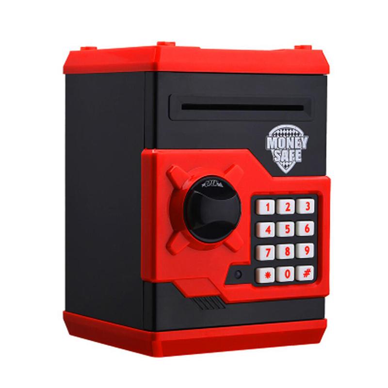 Caliente-Nuevo-Hucha-Mini-Atm-Caja-de-Dinero-Contrasena-Electronica-Mastica-E8T7 miniatura 2