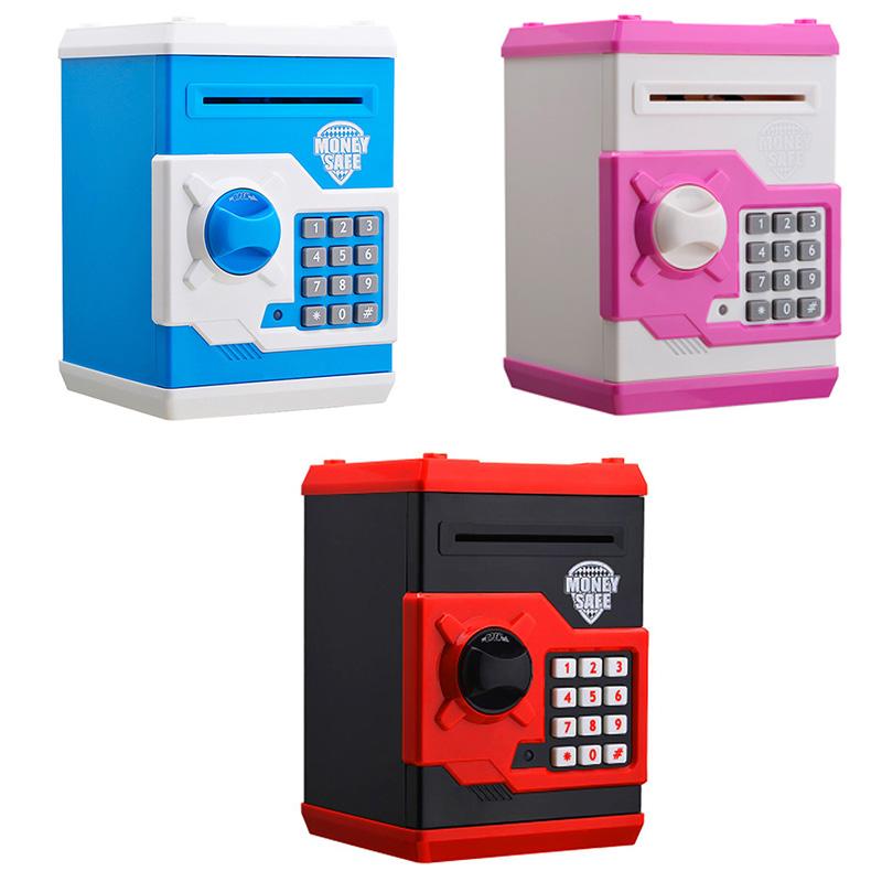 Hot-New-Piggy-Bank-Mini-Atm-Money-Box-Electronic-Password-Chewing-Coin-Cash-Depo thumbnail 14