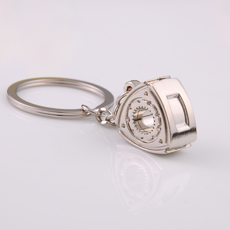 2X-Gift-Automobile-Refitting-Rotor-Engine-Keychain-Key-Ring-Pendant-Waist-H9F6 thumbnail 3