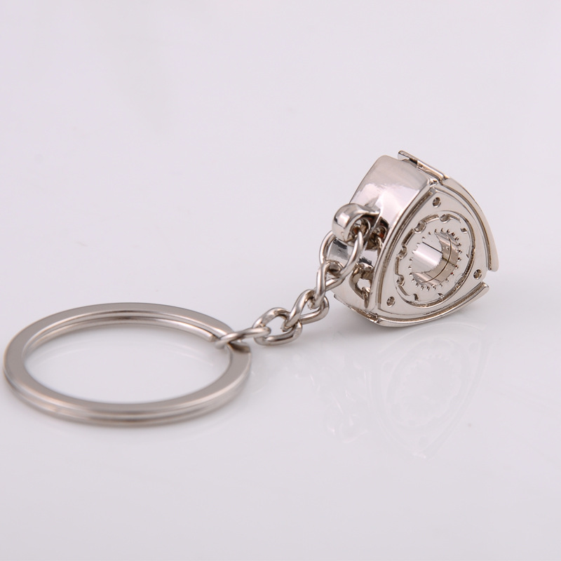 2X-Gift-Automobile-Refitting-Rotor-Engine-Keychain-Key-Ring-Pendant-Waist-H9F6 thumbnail 4