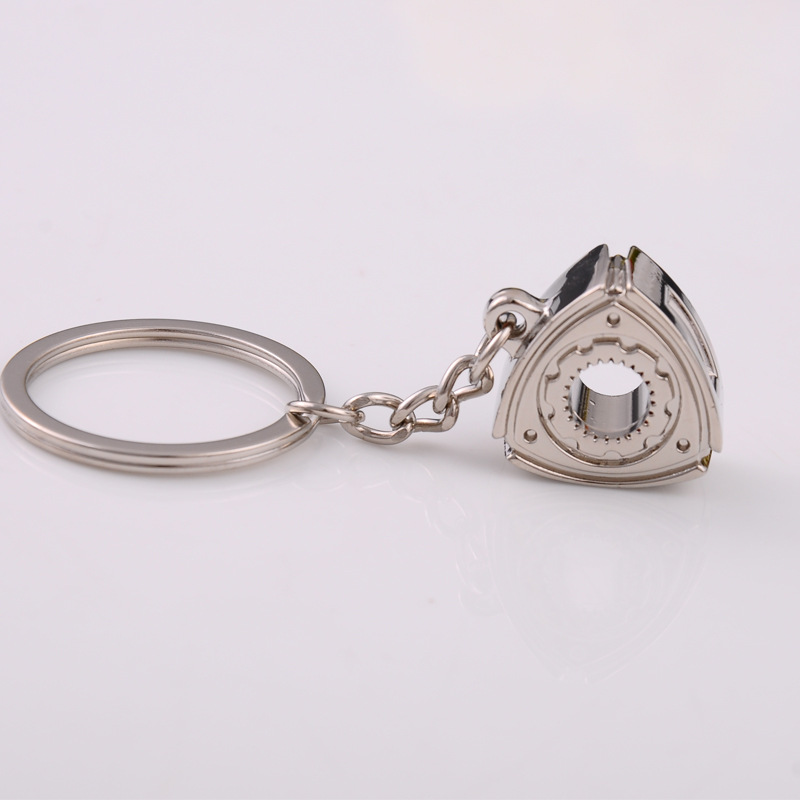 2X-Gift-Automobile-Refitting-Rotor-Engine-Keychain-Key-Ring-Pendant-Waist-H9F6 thumbnail 5