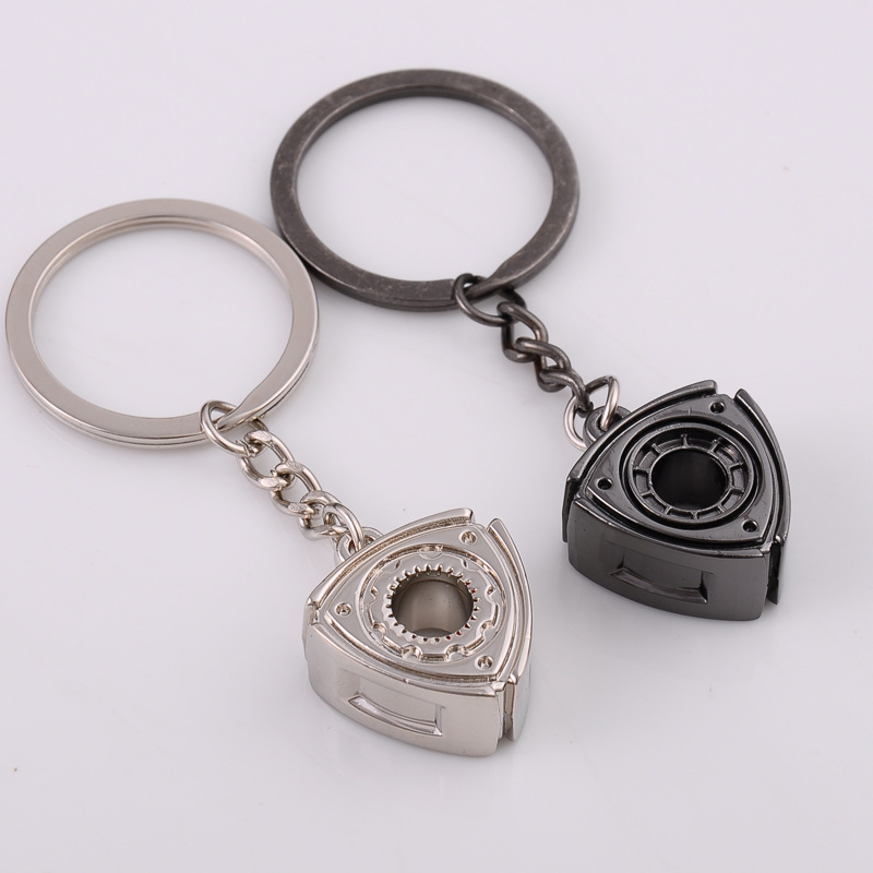 2X-Gift-Automobile-Refitting-Rotor-Engine-Keychain-Key-Ring-Pendant-Waist-H9F6 thumbnail 10